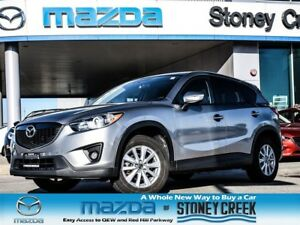 2015 Mazda CX-5 GS Auto AWD SUN LOW KM Heated Alloy B/UP CAM!