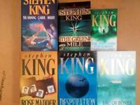 Stephen king books various titles