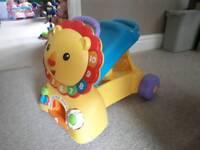 Fisher Price Ride & Stride Lion