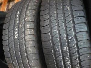 two 255-65-18 tires $150.00