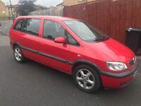 Vauxhall zafira 1.6 petrol 53-plate! 12mths mot also showing tax!! 7-seater mpv! Good runner! £695!!