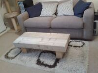 Chuncky Solid Pine Coffee Table - delivery available
