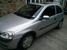 Spares or Repairs - 2001 Vauxhall Corsa C 1.0 12v Club