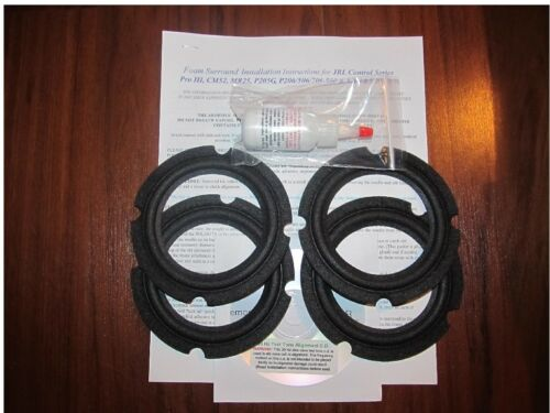 JBL SB-1, JM520, JM520M, P205G, SB1 Foam Surround Speaker Repair Kit - (4 pcs)