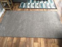 Grey rug 210x120 - reduced for quick sale!