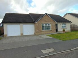 Lovely, bright, modern 3 bedroom bungalow for rent in Beauly