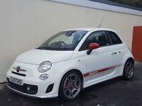 2009 FIAT ABARTH 500 1.4 TURBO NATIONWIDE DELIVERY, WARRANTY, MINIMUM £200 PART EX, BARGAIN PRICE,