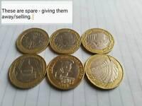 Coin swap £2 £1 50p