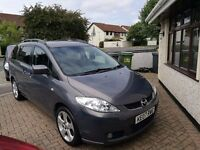 MAZDA 5 SPORT, 5 DOOR ESTATE, MANUAL 2.0 PETROL 2007, 7 seater, mazda5
