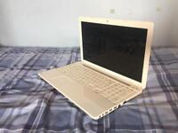 White Toshiba Satellite C55-A-15X Laptop Notebook