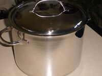 Big Stainless steel cooking pot