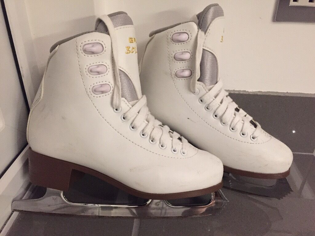 Girls / ladies Graf Bolero ice skates UK4