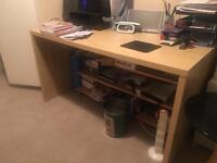 Office desk with free chair