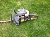 Ryobi petrol hedge cutter. For spares or repair.