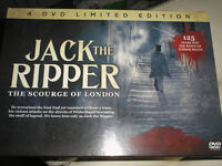 jack the ripper the scourge of london 4 dvd boxset