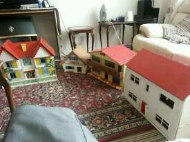 Large vintage dolls houses.