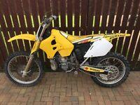 Suzuki rm 250 not Yamaha, Ktm,