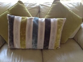 Set of 6 cushions from Next and M&S