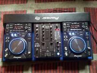 PIONEER CDJ 400 K DJM 400 K FLIGHT CASE LIMITED EDITION