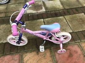 CHILDS BICYCLE PINK