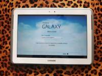 As new Boxed Samsung Galaxy Note 10.1 white 16GB with stand case and screen protector