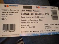 X2 Cirque du Soleil: Ovo tickets