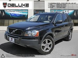 2005 Volvo XC90 2.5T VOLVO 2.5T  TRADE IN ONTARIO CAR ONE OWNER