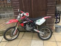 Honda cr 85 2008 big wheel not Ktm kx rm etc
