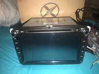 xtrons double din stereo, DAB android blue tooth, brand new