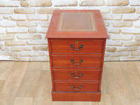 Unique 2 Drawer Filling Cabinet Antique style (Delivery)