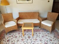 Rattan Furniture - Sofa, Chairs and Table