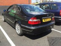 2002 BMW 320D ,DIESEL ,,AUTOMATIC , FULL LEATHER SEATERS,,REMOTE C LOCKING ,