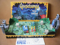 GOOSEBUMPS, Terror in the Graveyard board game. By Waddingtons 1996. Complete.