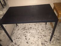 2 x Tables Black and Pine