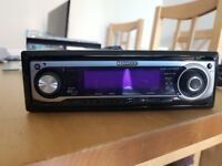 Kenwood CD Car Stereo - plays mp3's on CD