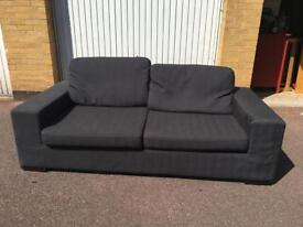 Gray 3 seater free London delivery