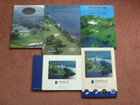 5 Golf Programmes from 1996 to 2000 for the Scottish Open at Loch Lomond