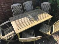 *INDIAN OCEAN* Teak Garden Furniture Set