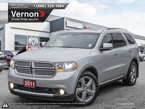 2011 Dodge Durango Citadel AWD LEATHER | SUNROOF | BACKUP CAMER