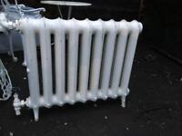 Georgian 2 column cast iron radiator
