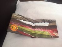 Brand new leather wallet Mufc