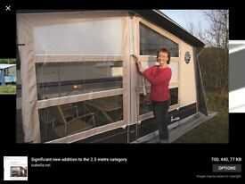 Isabella Opus 1075 awning and annexe