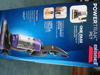 Bissel PowerTrak Pet 14722 vacuum cleaner. Brand new, unopened box.