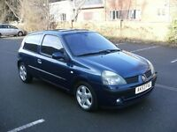 renault clio 1.6 16v *12 months mot no advisories*just had new spring fitting, drives great nice car