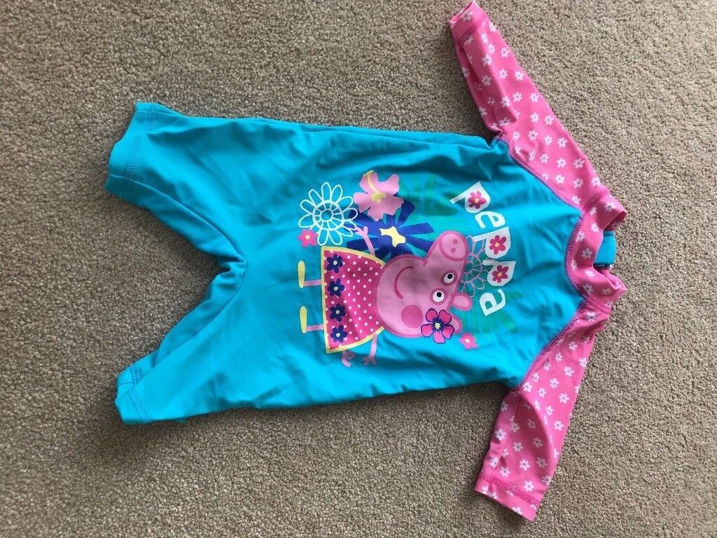 Peppa pig 0-3 month swimsuit