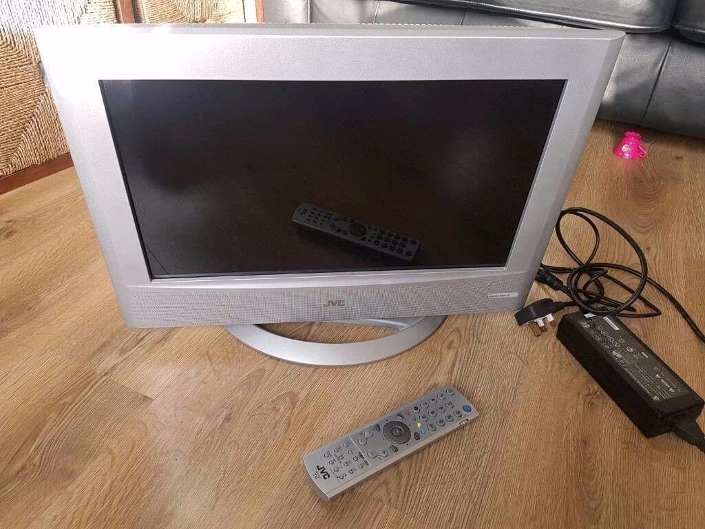 """JVC 20"""" LCD TV"""
