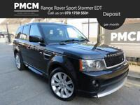 LAND ROVER RANGE ROVER SPORT 2011 3.0 TDV6 STORMER EDITION - MOT JULY 19 - JUST SERVICED - 4x4 2011