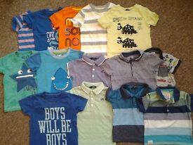 Boys 12-18 months tops bundle