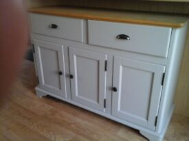 New oak sideboard and matching oak table