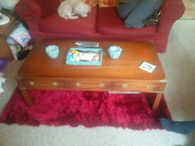 Military Style coffee table